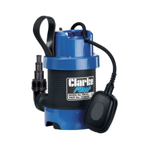 Clarke PSV1A Dirty Water Submersible Pump 140 Litres/Min 240V~50Hz